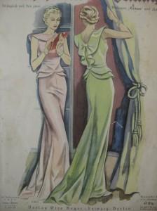 Abendkleid 30er Jahre