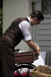 13 - Abfahrbereit mit sicher verschlossenem Koffer