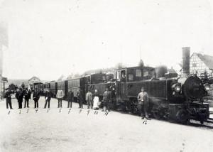Die Öchsle-Bahn im Jahr 1904