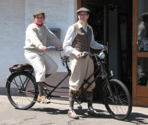Tandem bei Fahrrad Kimmich